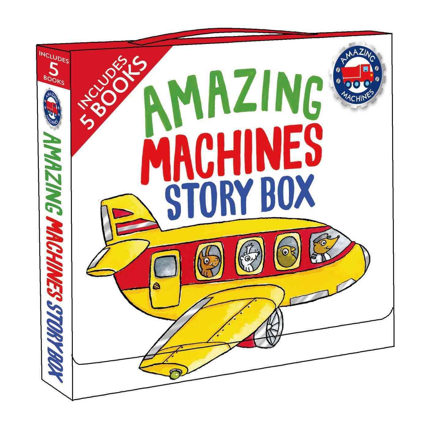 Amazing Machines Story Box By Mitton, Tony/ Parker, Ant (ILT)